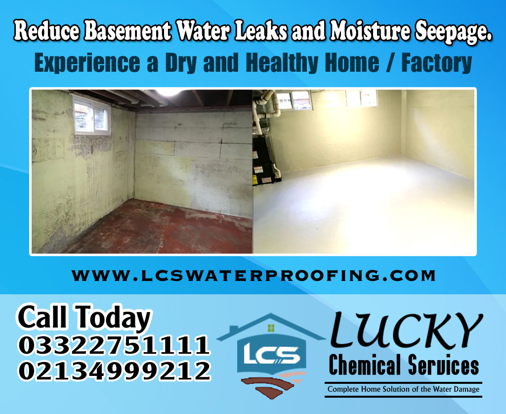 Basement Leakage Karachi Pakistan | Basement Leakage Services Karachi